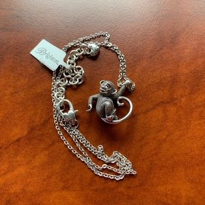 NWT Brighton Monkeying Around Necklace